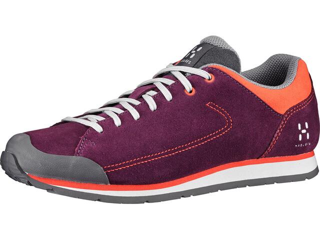 Haglöfs W's Roc Lite Shoes aubergine/habanero